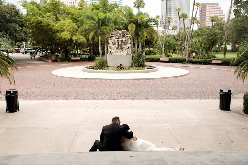 Tampa Florida Destination Wedding Portraits