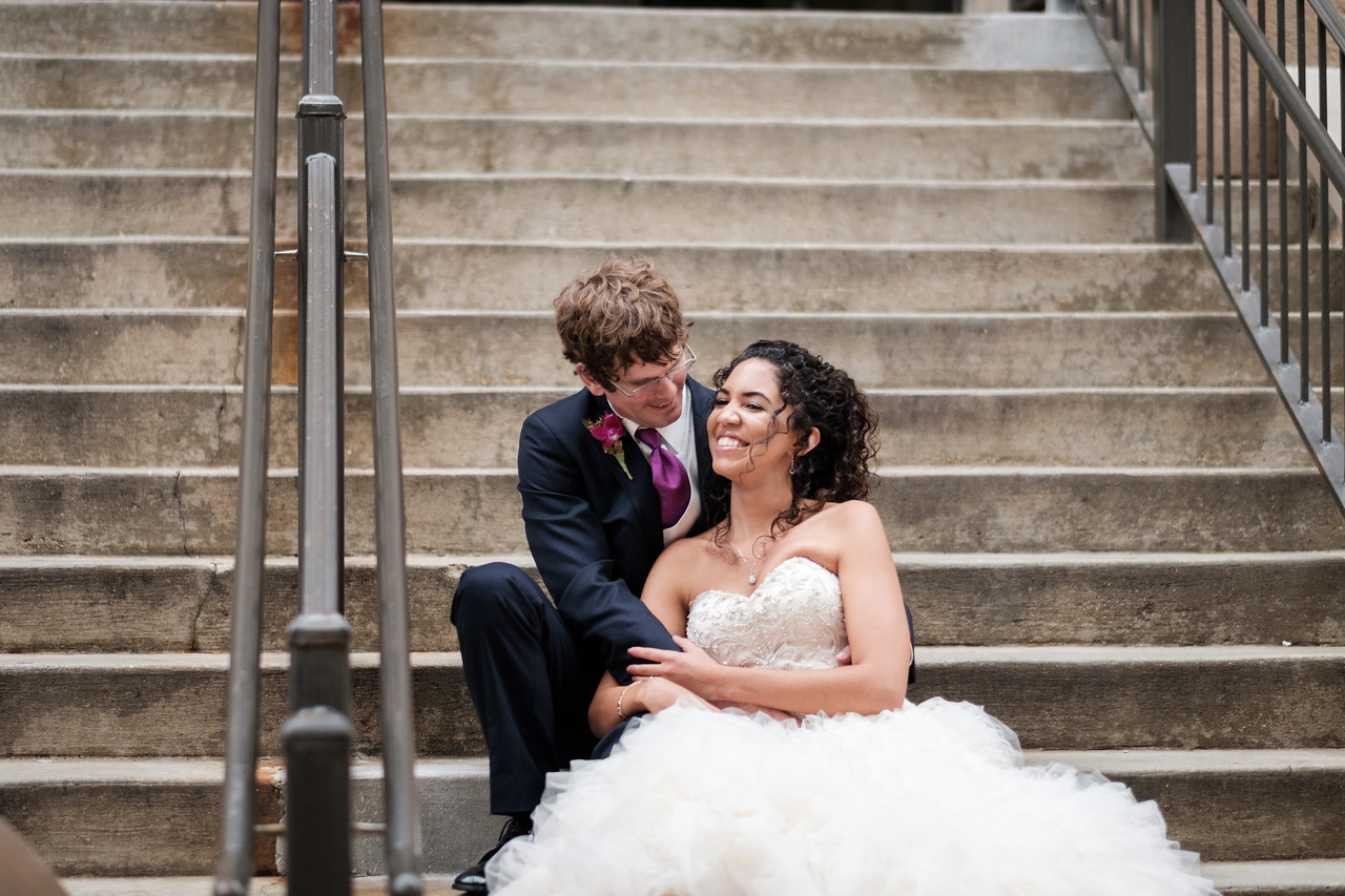 Liz and Mike's downtown Madison wedding