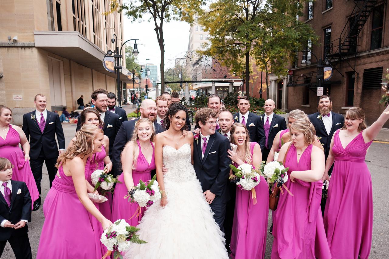 Liz and Mike's downtown Madison wedding