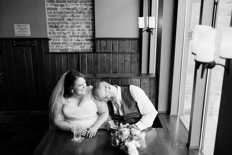 Downtown Rockford wedding portraits