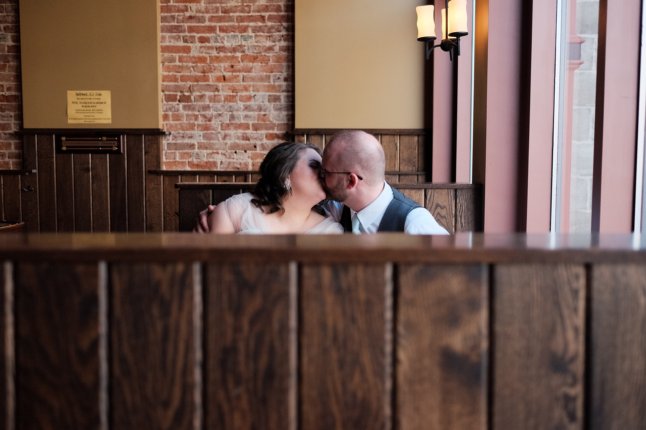 Downtown Rockford wedding portraits
