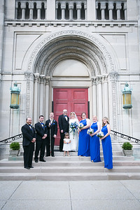 Megan & Kevin's wedding day at St. Peter Catholic Church & the Hilton in Lexington, KY 7.11.15.  ©2015 Love & Lenses Photography/Becky Flanery  www.loveandlenses.photography