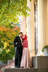 Nadia & Mohamed's engagement photography in Downtown Lexington, KY 11.11.16.  © 2016 Love & Lenses Photography/ Becky Flanery   www.loveandlenses.photography