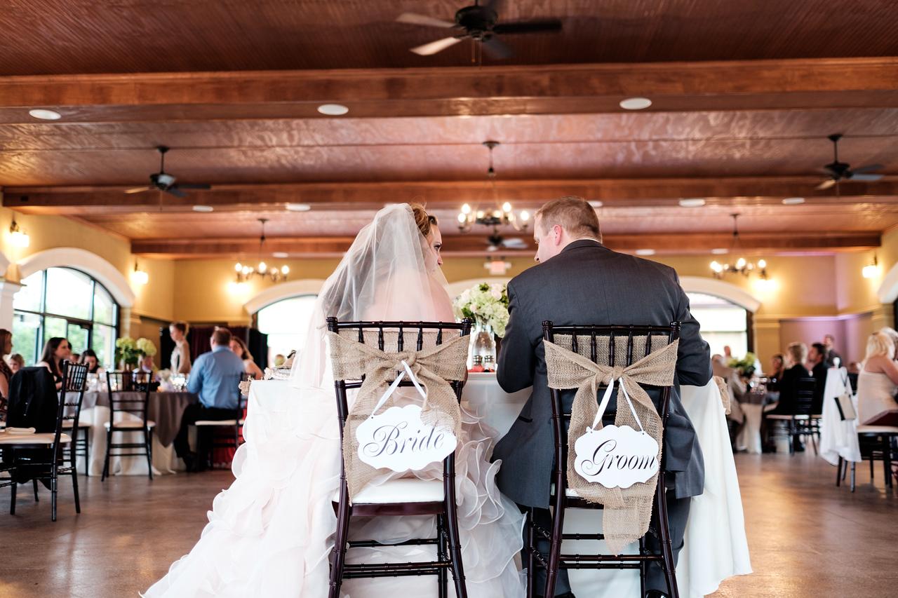 Dry Creek Vineyard & Winery pavillion Wedding reception