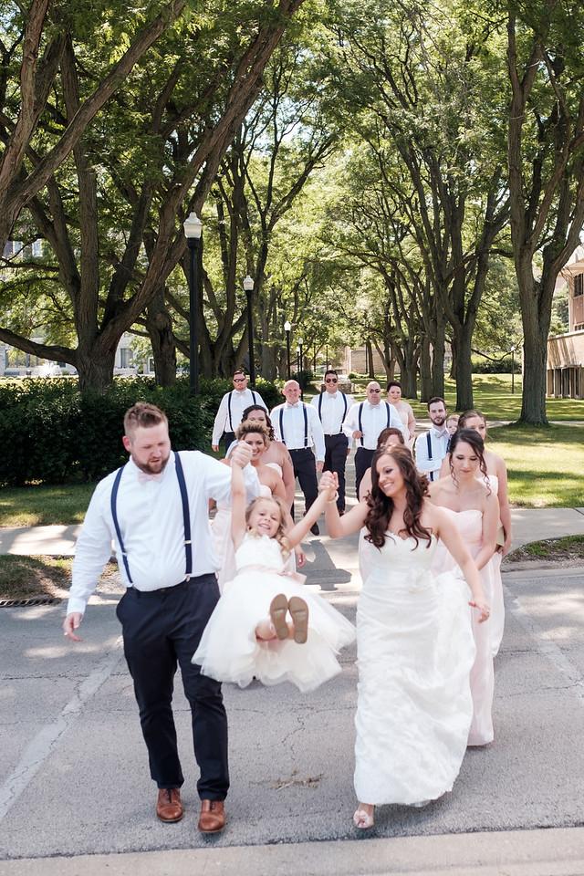 Paulina & Andrew's wedding at Hopkins park in  Dekalb, IL.