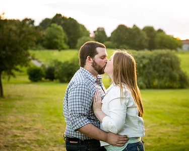 Rachel & Blake's engagement photography at the Arboretum in Lexington, KY 6.6.16.  © 2016 Love & Lenses Photography/ Becky Flanery   www.loveandlenses.photography