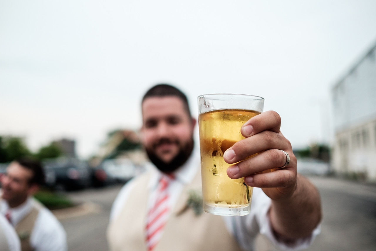 Prairie St. Brewhouse Wedding Reception
