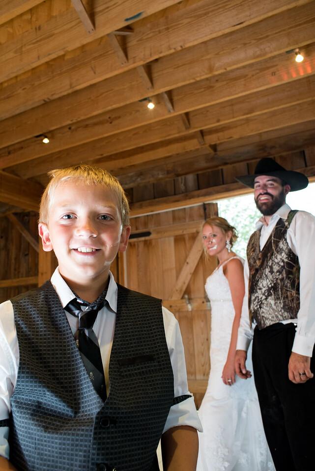 Midway Village Barn Reception