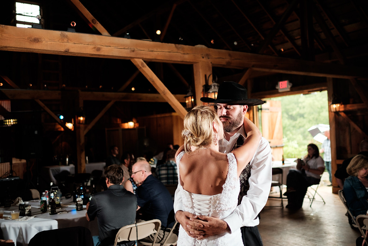 Midway Village Barn Reception
