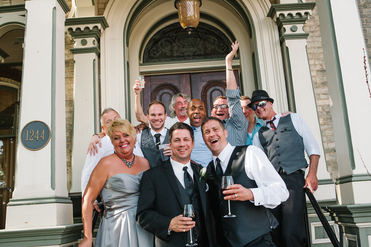 Briggs Mansion Wedding Reception