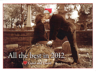 FEATURED PHOTO: This is one of two photos that actor David Mogentale and yoga teacher Carol Foster commissioned me to shoot for their final Christmas card and letter in 2011, a family tradition that the couple sustained for twenty-three consecutive years.
