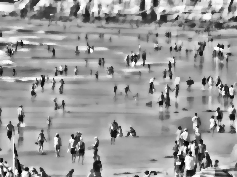 Del Mar Beach Labor Day