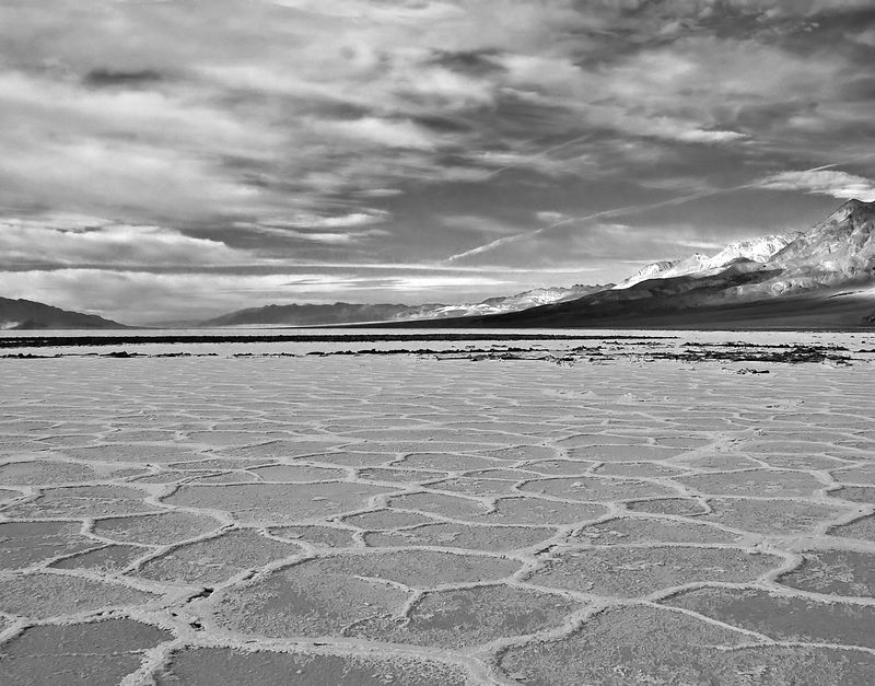 Death Valley, Salt Flats