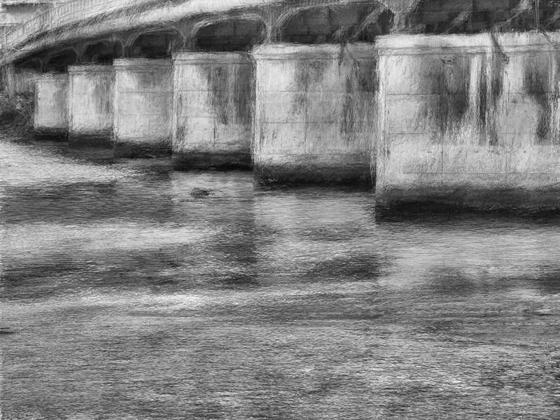 Bridge, Near Mission Bay California