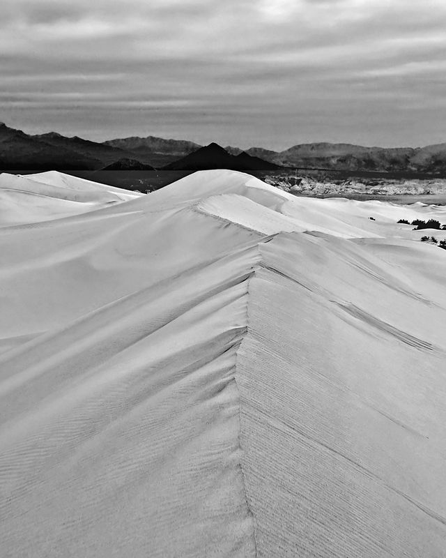 Dunes at Sunset, Death Valley, CA
