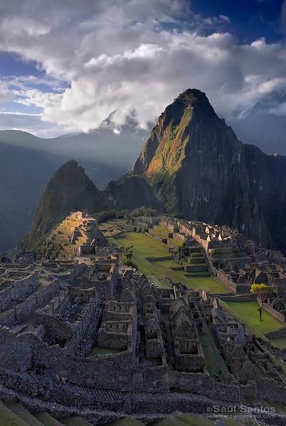 Machupichu al atardecer, Perú