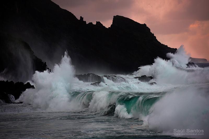 Fajana de Barlovento, Isla de La Palma. Islas Canarias
