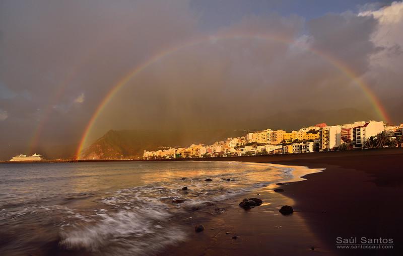 Playa de Santa Cruz de La Palma. Isla de La Palma. Islas Canarias