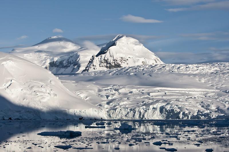 Sea, Sky, Land and Glacier