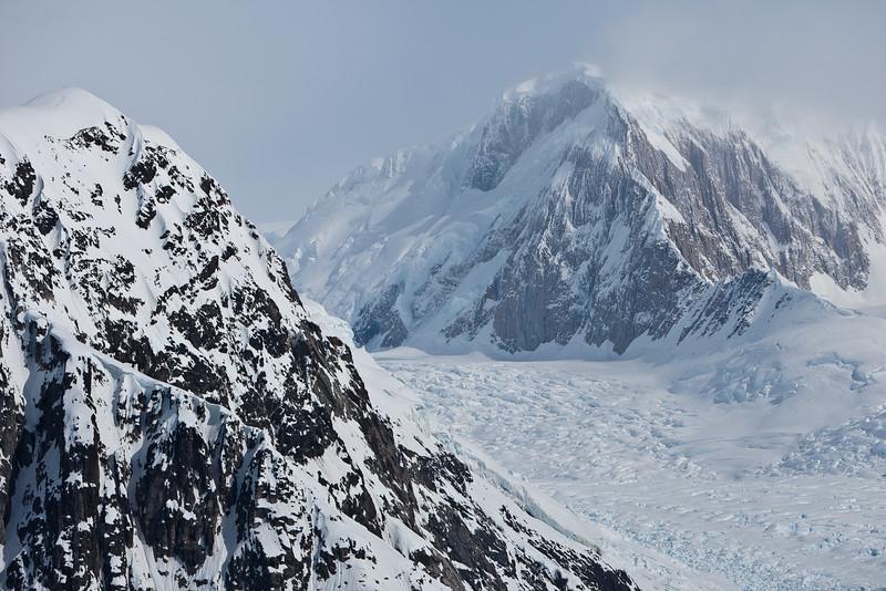 Antarctic Peninsula and Glacier