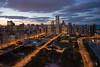Chicago at Night - Millenium Park