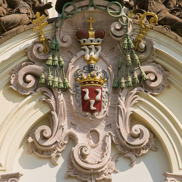 Crest on Cardinal's House