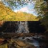 Otter Lake Waterfall   Blue Ridge Parkway