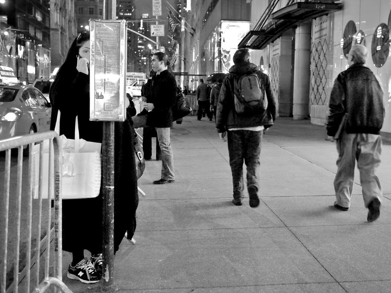 Bus Stop No. 100