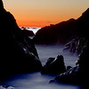 After sunset, Shark Harbor