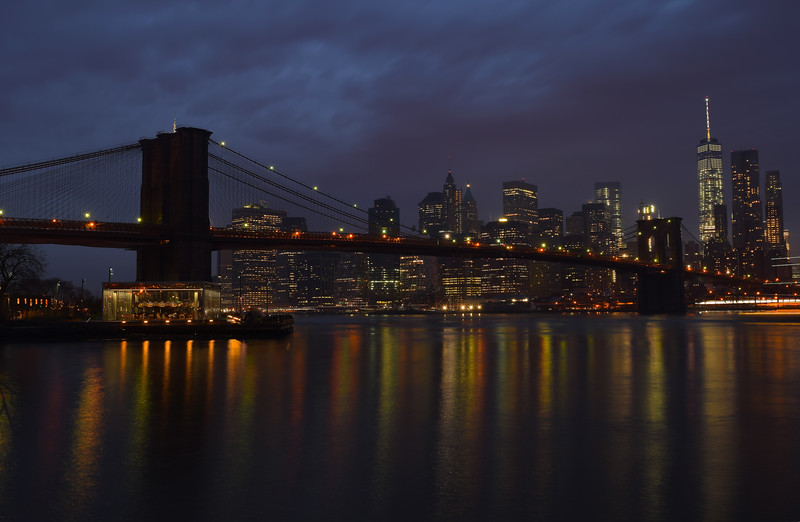 Brooklyn Bridge & Manhattan Skyline | New York