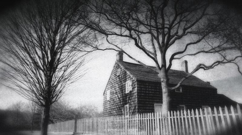 The Williams House, Old Bethpage Village Restoration, Old Bethpage, Long Island, Nassau County, New York