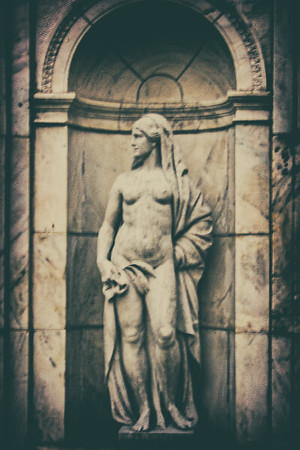 Fountain Figure, WInfield Hall, Glen Cove