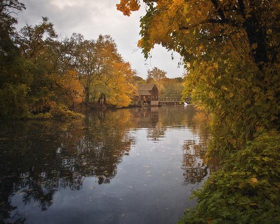 Water Mill at Philipsburg Manor, Sleepy Hollow, North Tarrytown, Westchester County, New York