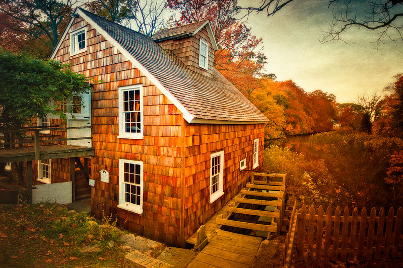 Stony Brook Gristmill, Stony Brook, Suffolk County, Long Island, New York