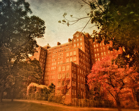 Building 93, KIng's Park Psychiatric Hospital, Long Island, New York