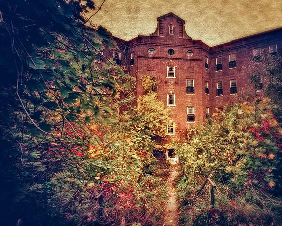 The Quad, KIng's Park Psychiatric Hospital, Long Island, New York