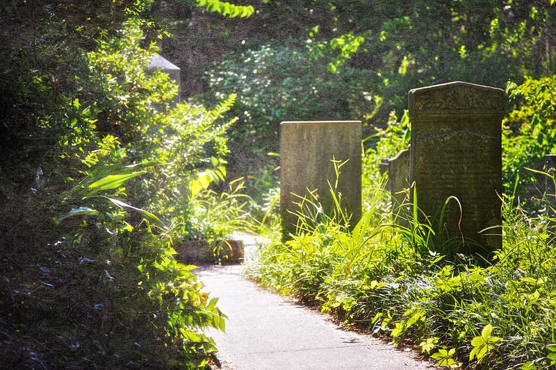 Charleston Landmarks: Unitarian Church in Charleston Cemetery, Charleston, South Carolina
