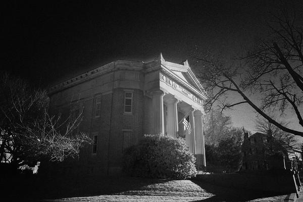 John Jermain Library, c. 1910, Sag Harbor, Southampton, Suffolk County, Long Island