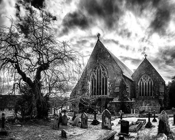 St Teilo's Church, Black and White
