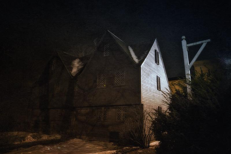 Colonial Era Architecture: John Ward House, c. 1684, Peabody Essex Museum, Salem, Essex County, Massachusetts