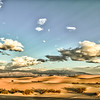 Mesquite Flat Sand Dunes.....same as previous photo, but in color. The clouds that morning were varied and beautiful