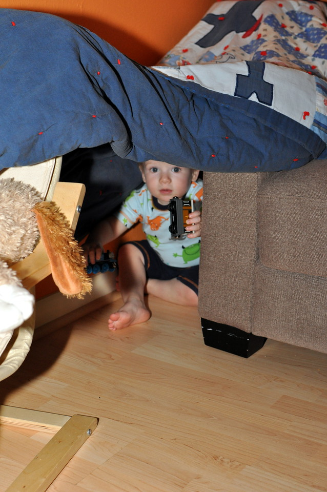 Blanket forts, of of mankind's greatest achievements