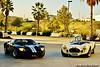 Ford Mk1 GT40 P1034 and Shelby Cobra 427 Competition CSX 3006
