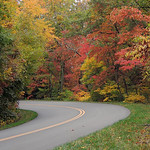 """""""Around The Bend""""   Blue Ride Parkway"""