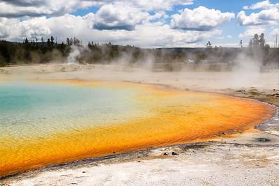 Sunset Lake - Yellowstone National Park