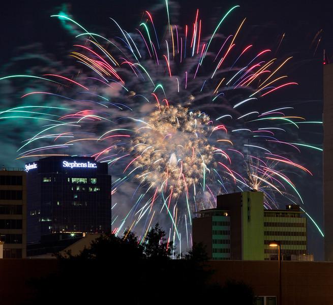 River Market Fireworks 2010