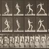 Nude man walking (Animal Locomotion, 1887, plate 7)