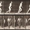 Nude man walking (Animal Locomotion, 1887, plate 4)