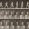 Nude man walking (Animal Locomotion, 1887, plate 10)