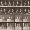 Two nude boys walking (Animal Locomotion, 1887, plate 12)